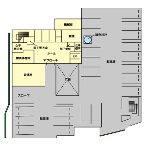 フロアガイド新館1F(トレース2)
